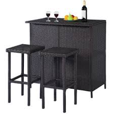 Outdoor Bars  Patio Bars  SearsOutdoor Wicker Bar Furniture