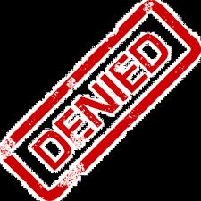 「denied」の画像検索結果