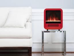 portable electric fireplace mini retro stove large6