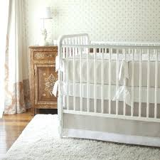 rug for baby room neutral nursery with white pink girl