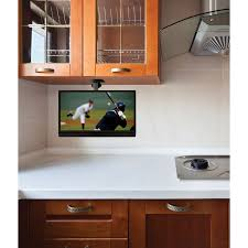 Kitchen Tvs 11 Cabinet Cool Under Cabinet Tv For Home Small Flat Screen Tvs