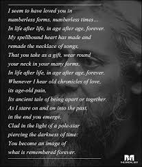 Endless Love Quotes Enchanting 48 Rabindranath Tagore Love Poems That Capture The Essense Of True Love