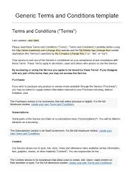 Website Terms And Conditions Template 24 Free Terms and Conditions Templates for any Website Template Lab 1