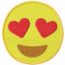 Emoji Embroidery Designs Love Emoji A Machine Embroidery Design