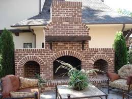 amazing outdoor fireplace designs plans standout outdoor brick fireplaces delectable decorative source standout