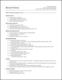 These resume addendum samples ...