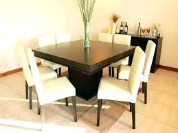 dining room set 8 chairs square table for likeable sets new silver