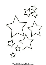 Small Picture Simple good stars from star coloring pages Grootfeestinfo