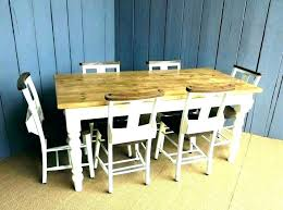 farmhouse kitchen table sets round country and chairs french