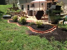 Diy Lawn Edging Ideas Brick Garden Edging Ideas
