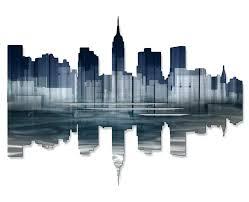 new york city wall decor new city reflection ii wall new york city wall decor