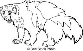 Small Picture Wolverines Illustrations and Clipart 127 Wolverines royalty free
