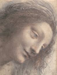 renaissance drawings material and function essay heilbrunn   head of the virgin in three quarter view facing right