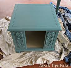end table dog house both domestic