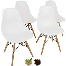 Eames Replica Chairs White Amazoncom Urbanmod Mid Century Style Urban easy Assemble Furniture With Ergoflex Abs Plastic And one