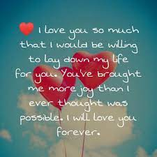 Love You Forever Wallpapers - Top Free ...