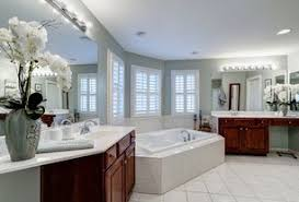 Traditional Master Bathroom with Delray White 12 in. x 12 in. Ceramic Floor  and