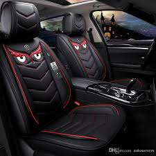 universal fit car accessories seat covers for trucks durable pu leather five seats covers for suv for sudan full set design high quality leather seat covers