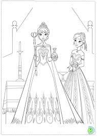 Small Picture Frozen Coloring Pages Anna And Kristoff 112 Adult and