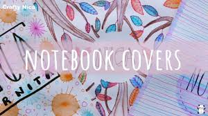 diy notebook cover ideas how to decorate notebooks designs for projects
