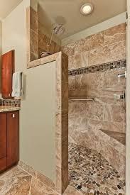 Bathroom Remodeling Columbia Md Beauteous Bathroom Remodel With Doorless Walkin Shower Small Bathroom