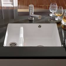 Granite Kitchen Sinks Undermount Sinks Faucets Grey Solid Glossy Subway Tile Kitchen Backsplash