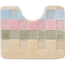 <b>Коврик</b> для туалета Marathon Block <b>50x60</b> см цвет кремовый в ...