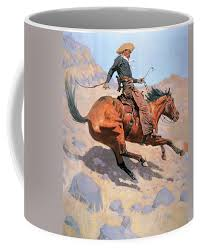 About 2% of these are mugs. The Cowboy Coffee Mug For Sale By Frederic Remington