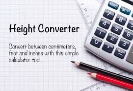 Height Conversion Chart Ft To Cm Height Converter Convert Between Cm Feet And Inches