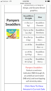 Pampers Size 3 Chart Pin On Pregnancy