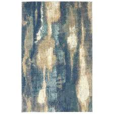 albion blue brown area rug rugs the home depot craftsmen compressed