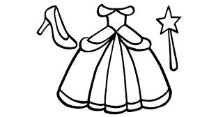Bộ sưu tập tranh tô màu váy công chúa cho bé gái - Zicxa books