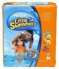 13 Unfolded Little Swimmers Size Chart