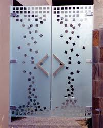 gallery for modern glass door designs