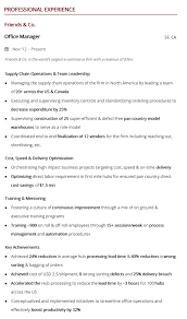 Sample Office Manager Resumes Office Manager Resume A 10 Step 2019 Guide With Samples