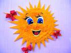 Как сделать солнышко своими руками в садик 45