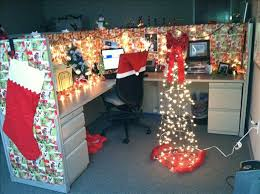 christmas office decor. Office Decoration Ideas For Christmas Clever Decorating Work Cubicle  Chritsmas Christmas Office Decor