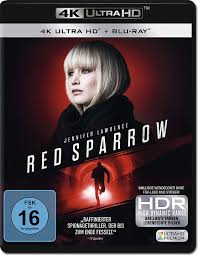 Red Sparrow Blu-ray UHD (2 Discs) [4K Ultra HD Filme] • World of Games