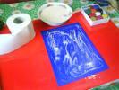Картины объемные из туалетной бумаги