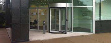 High Security Revolving Door Tourlock  Boon Edam US - Exterior access door