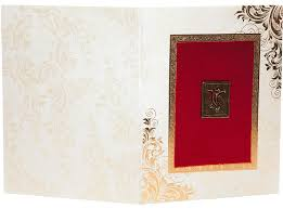 royal wedding invitation in laser cut out ganesha on red velvet Red Velvet Wedding Invitations royal wedding invitation in laser cut out ganesha on red velvet Wedding Invitation Templates