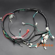 electric parts wire cable wiring harness loom zongshen loncin lifan electric parts wire cable wiring harness loom zongshen loncin lifan 150cc 200c 250cc 300cc atv quad