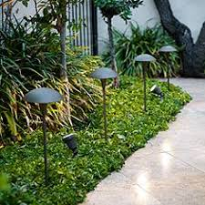 contemporary landscape lighting. large mushroom low voltage bronze led landscape path light contemporary lighting a