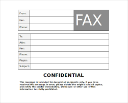 Free Printable Fax Cover Free Printable Fax Cover Sheet Template In Pdf Word Excel