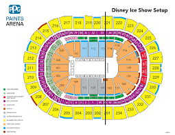 Disney On Ice Seating Chart Oracle Arena 69 Unbiased Purcell Pavilion Seating Chart