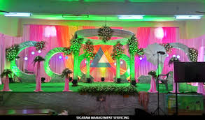 Small Picture Wedding Reception Decorators in Pondicherry Chennai Tamilnadu