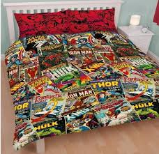 Trend Marvel Double Bed Set 64 On Black And White Duvet Covers ... & Trend Marvel Double Bed Set 64 On Black And White Duvet Covers with Marvel  Double Bed Set Adamdwight.com