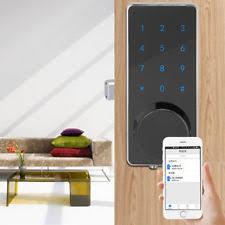 home security door locks. Bluetooth Keyless Digital Touch Smart Electronic Security Door Lock Password APP Home Locks