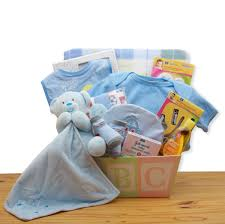gbds 890332 b easy as abc new baby gift basket blue 0