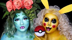 pin for later 10 pokémon inspired makeup tutorials worth trying this ivysaur and pikachu